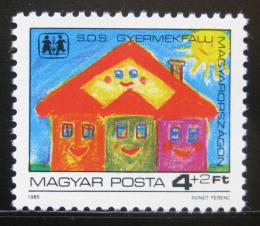 Poštovní známka Maïarsko 1985 Vesnièka SOS Mi# 3797
