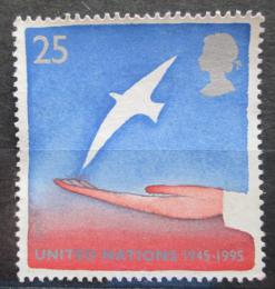 Poštovní známka Velká Británie 1995 OSN, 50. výroèí Mi# 1574