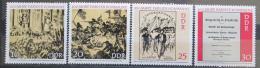 Poštovní známky DDR 1971 Paøížská komuna, 100. výroèí Mi# 1655-58