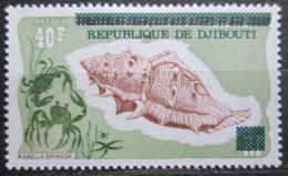 Poštovní známka Džibutsko 1977 Mušle pøetisk Mi# 181 Kat 7.50€