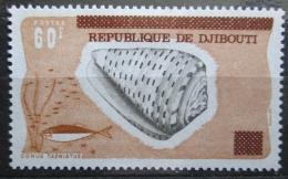 Poštovní známka Džibutsko 1977 Mušle pøetisk Mi# 185 Kat 10€
