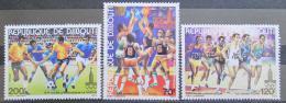 Poštovní známky Džibutsko 1979 LOH Moskva Mi# 259-61 Kat 7.50€