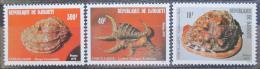 Poštovní známky Džibutsko 1979 Mušle Mi# 262-64 Kat 8€