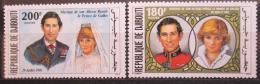 Poštovní známky Džibutsko 1981 Královská svatba Mi# 304-05 Kat 7.50€