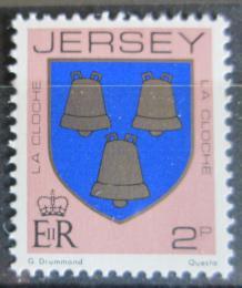 Poštovní známka Jersey 1984 Erb rodiny La Cloche Mi# 244 C