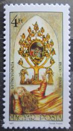Poštovní známka Maïarsko 1987 Kostel Gyongyospata Mi# 3921