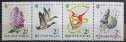 Poštovní známky Maïarsko 1964 Výstava IMEX Mi# 2053-56