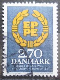 Poštovní známka Dánsko 1984 Volby do evropského parlamentu Mi# 804