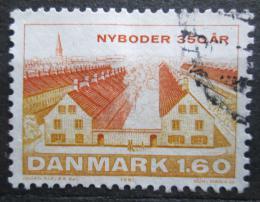 Poštovní známka Dánsko 1981 Nyboder, 150. výroèí Mi# 729