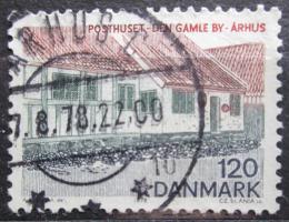 Poštovní známka Dánsko 1978 Architektura Mi# 665