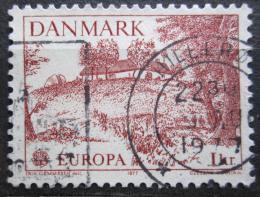 Poštovní známka Dánsko 1977 Evropa CEPT Mi# 639