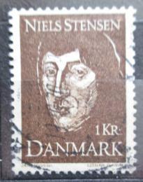 Poštovní známka Dánsko 1969 Niels Stensen Mi# 485