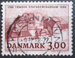Poštovní známka Dánsko 1988 VŠ pedagogická, 200. výroèí Mi# 927