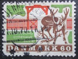 Poštovní známka Dánsko 1970 Jelení park Jaegersborg Mi# 495