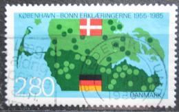 Poštovní známka Dánsko 1985 Bonn-Kodaò deklarace Mi# 829