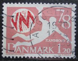 Poštovní známka Dánsko 1978 MS v házené Mi# 655