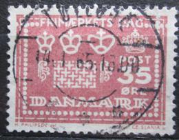 Poštovní známka Dánsko 1964 Vodoznaky a perforace Mi# 424
