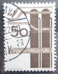 Poštovní známka Dánsko 1968 Chemický prùmysl Mi# 471