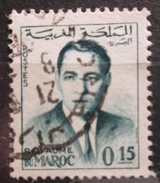 Poštovní známka Maroko 1962 Král Hassan II. Mi# 493