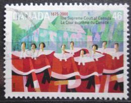 Poštovní známka Kanada 2000 Nejvyšší soud, 125. výroèí Mi# 1905
