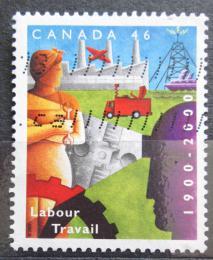 Poštovní známka Kanada 2000 Ministerstvo práce, 100. výroèí Mi# 1932