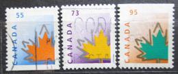 Poštovní známky Kanada 1998 Javorové listy Mi# 1737 A,1736,38 D