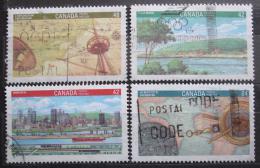 Poštovní známky Kanada 1992 Výstava CANADA Mi# 1279-82