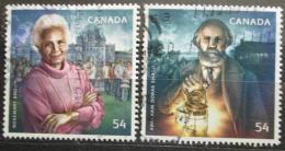 Poštovní známky Kanada 2009 Politici Mi# 2534-35