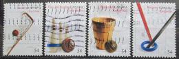 Poštovní známky Kanada 2009 Sport Mi# 2571-74