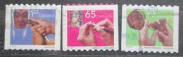 Poštovní známky Kanada 2002 Rukodìlné umìní Mi# 2023-25