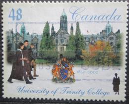 Poštovní známka Kanada 2002 Univerzita Toronto, 150. výroèí Mi# 2044