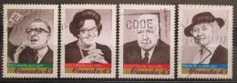Poštovní známky Kanada 1997 Politici Mi# 1639-42