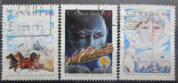 Poštovní známky Kanada 1991 Lidové pohádky Mi# 1250,1252-53