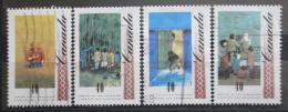 Poštovní známky Kanada 1991 Umìní, William Kurelek Mi# 1242-45
