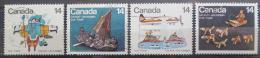 Poštovní známky Kanada 1978 Eskimácké umìní Mi# 704-07