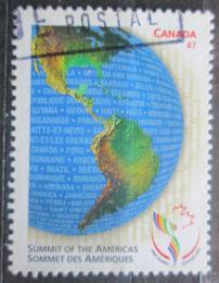 Poštovní známka Kanada 2001 Zemìkoule Mi# 1979