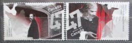 Poštovní známky Kanada 2001 Divadla Mi# 2011-12
