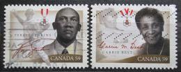 Poštovní známky Kanada 2011 Osobnosti Mi# 2696-97