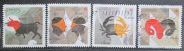 Poštovní známky Kanada 2011 Znamení zvìrokruhu Mi# 2735-38
