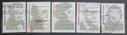 Poštovní známky Kanada 1996 Spisovatelé Mi# 1600-04