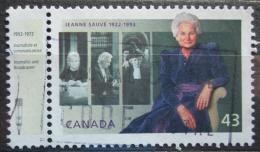 Poštovní známka Kanada 1994 Jeanne Sauve, guvernérka Mi# 1408