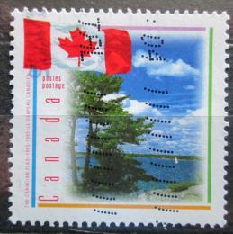 Poštovní známka Kanada 1995 Státní vlajka Mi# 1465