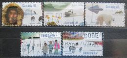 Poštovní známky Kanada 1995 Arktický institut Mi# 1510-14