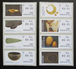 Poštovní známky Irsko 2017 Dìjiny Irska Známky z automatu ATM