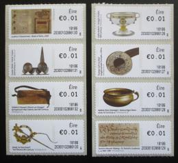 Poštovní známky Irsko 2018 Dìjiny Irska Známky z automatu ATM