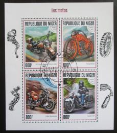 Poštovní známky Niger 2017 Motocykly Mi# 5187-90 Kat 13€