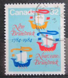 Poštovní známka Kanada 1984 New Brunswick, 200. výroèí Mi# 908