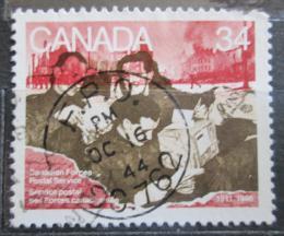 Poštovní známka Kanada 1986 Vojenská pošta, 75. výroèí Mi# 994