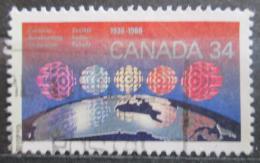 Poštovní známka Kanada 1986 Kanadské rádio, 50. výroèí Mi# 1003