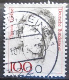 Poštovní známka Nìmecko 1988 Therese Giehse, hereèka Mi# 1390